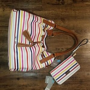 Liz Claiborn Matching Purse and Wallet